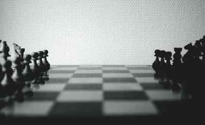 black black and white blur board game